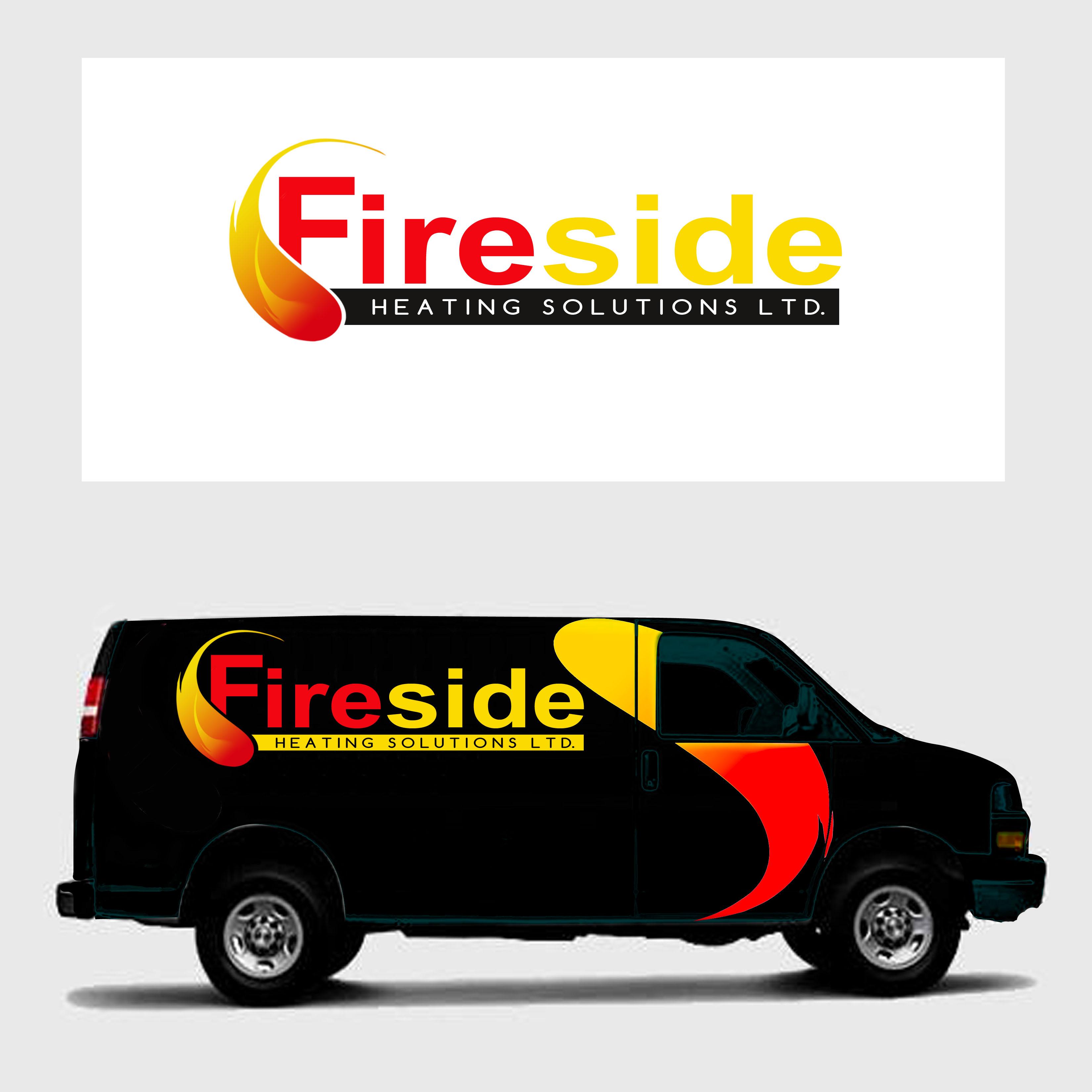 Logo Design by Allan Esclamado - Entry No. 59 in the Logo Design Contest Creative Logo Design for Fireside Heating Solutions Ltd..