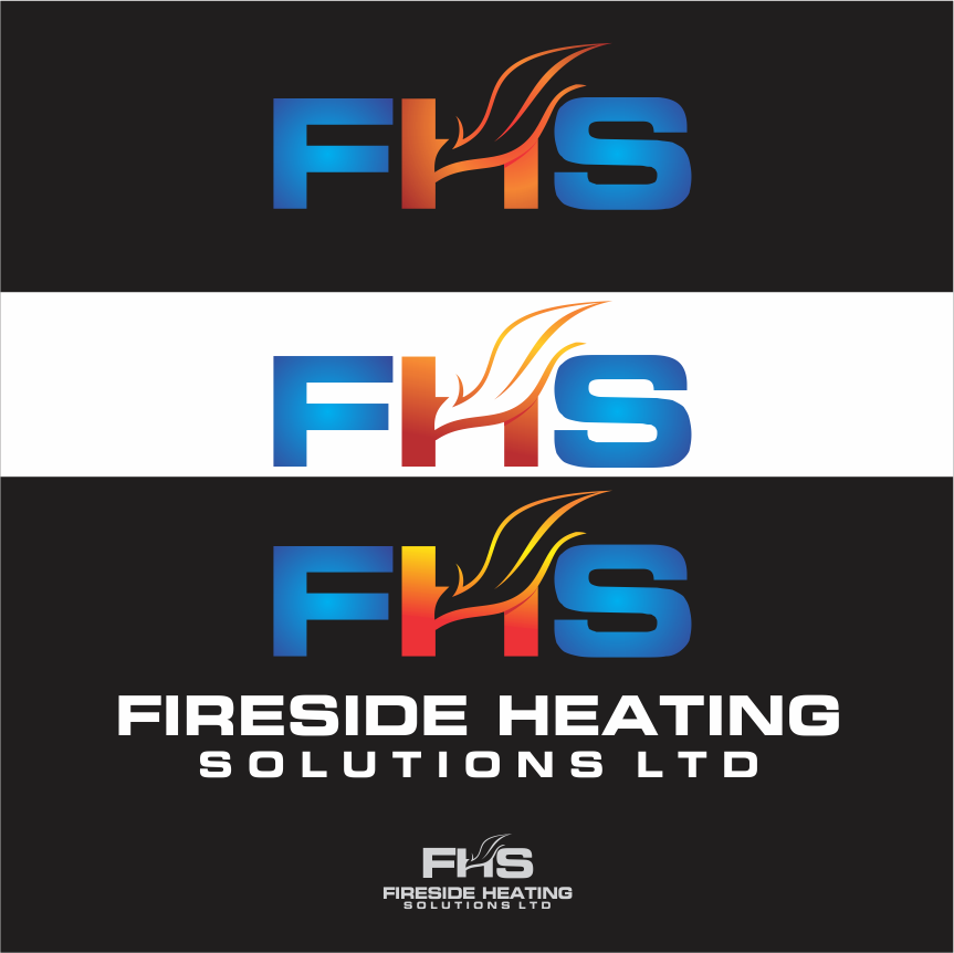 Logo Design by Armada Jamaluddin - Entry No. 61 in the Logo Design Contest Creative Logo Design for Fireside Heating Solutions Ltd..