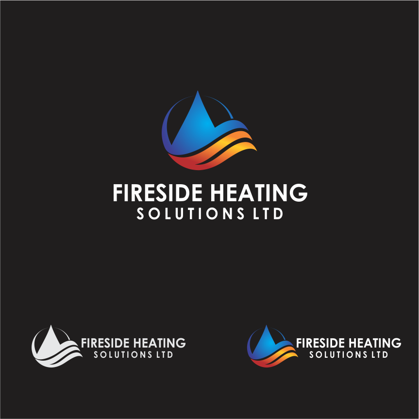Logo Design by Armada Jamaluddin - Entry No. 62 in the Logo Design Contest Creative Logo Design for Fireside Heating Solutions Ltd..