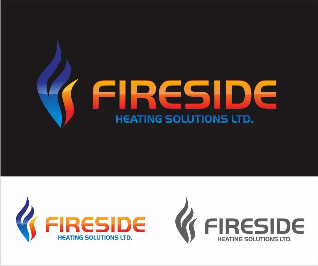 Logo Design by ronny - Entry No. 64 in the Logo Design Contest Creative Logo Design for Fireside Heating Solutions Ltd..