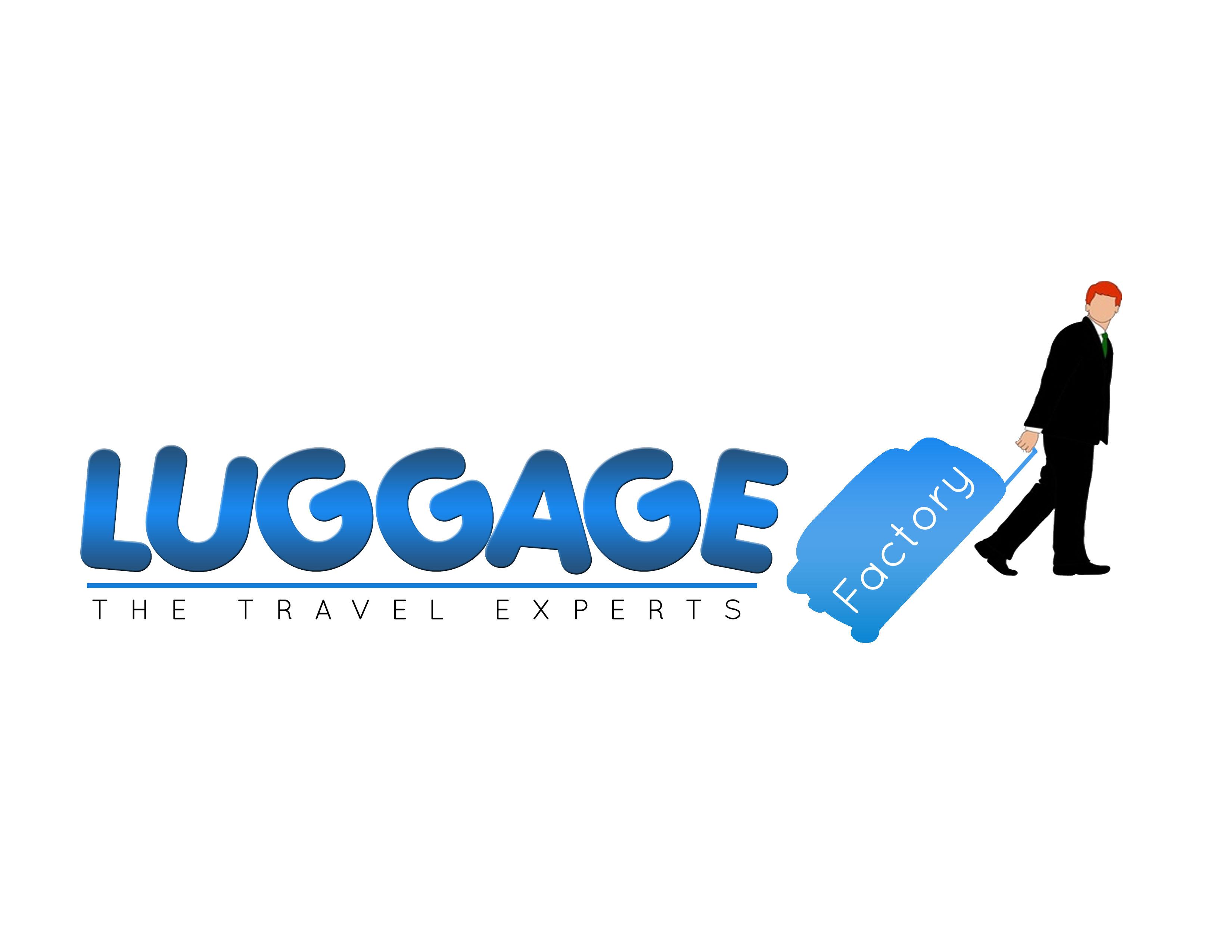 Logo Design by Kathrina Arceta - Entry No. 49 in the Logo Design Contest Creative Logo Design for Luggage Factory.