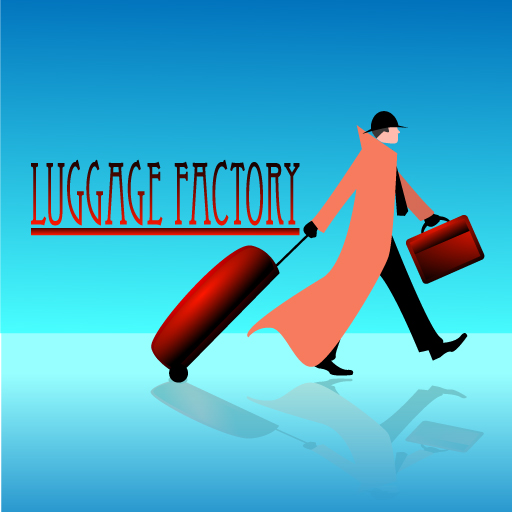 Logo Design by Runz - Entry No. 52 in the Logo Design Contest Creative Logo Design for Luggage Factory.