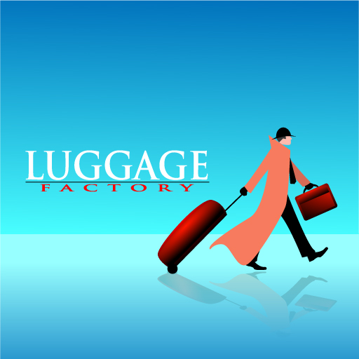 Logo Design by Runz - Entry No. 54 in the Logo Design Contest Creative Logo Design for Luggage Factory.