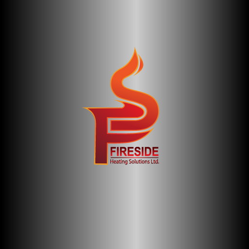 Logo Design by Runz - Entry No. 69 in the Logo Design Contest Creative Logo Design for Fireside Heating Solutions Ltd..