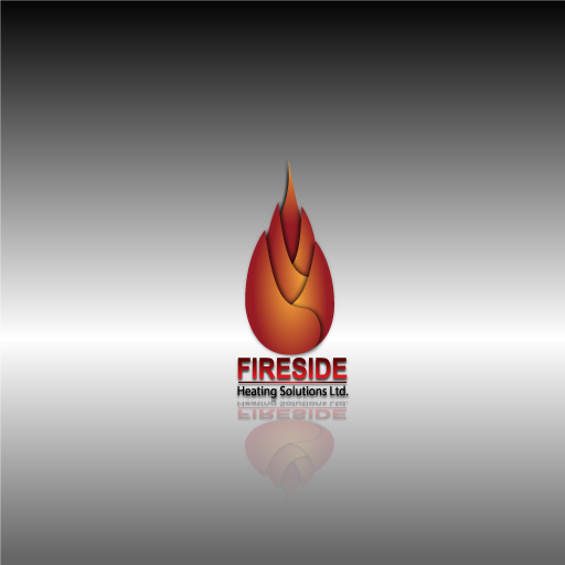 Logo Design by Runz - Entry No. 71 in the Logo Design Contest Creative Logo Design for Fireside Heating Solutions Ltd..