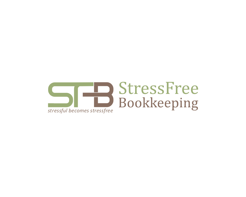 Logo Design by Aqif - Entry No. 61 in the Logo Design Contest StressFree Bookkeeping.