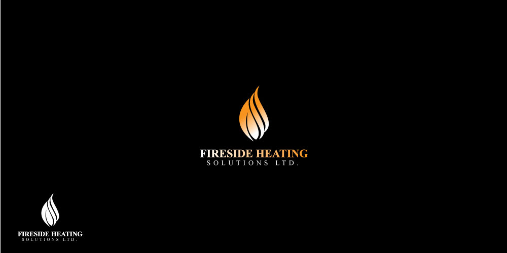 Logo Design by ARSAL ARSAL - Entry No. 72 in the Logo Design Contest Creative Logo Design for Fireside Heating Solutions Ltd..