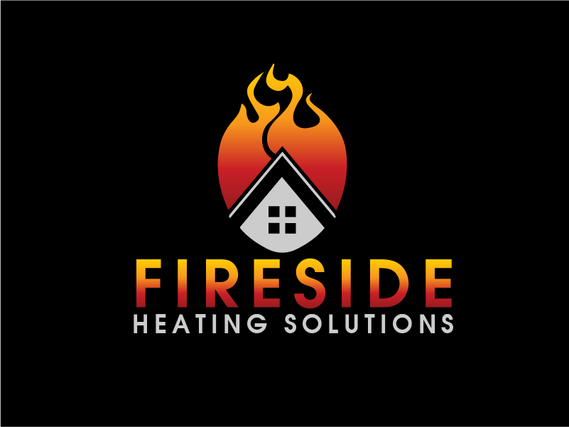 Logo Design by brands_in - Entry No. 73 in the Logo Design Contest Creative Logo Design for Fireside Heating Solutions Ltd..