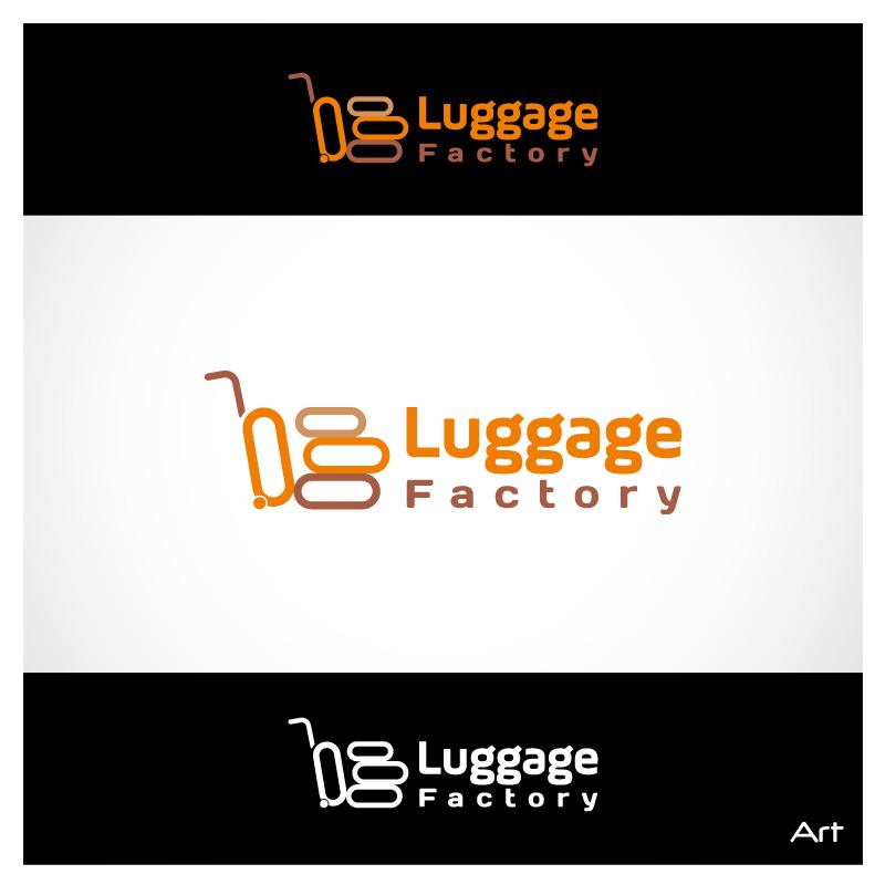 Logo Design by Puspita Wahyuni - Entry No. 57 in the Logo Design Contest Creative Logo Design for Luggage Factory.
