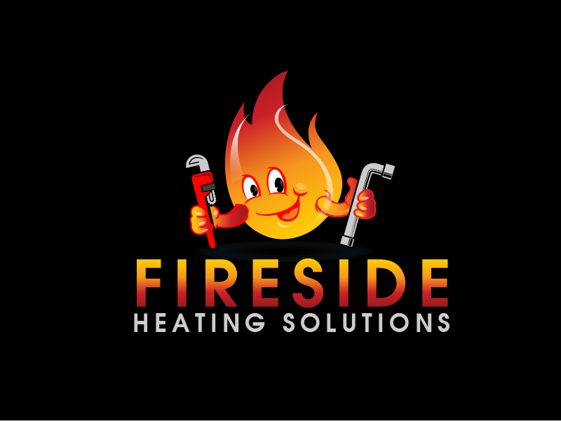 Logo Design by brands_in - Entry No. 75 in the Logo Design Contest Creative Logo Design for Fireside Heating Solutions Ltd..