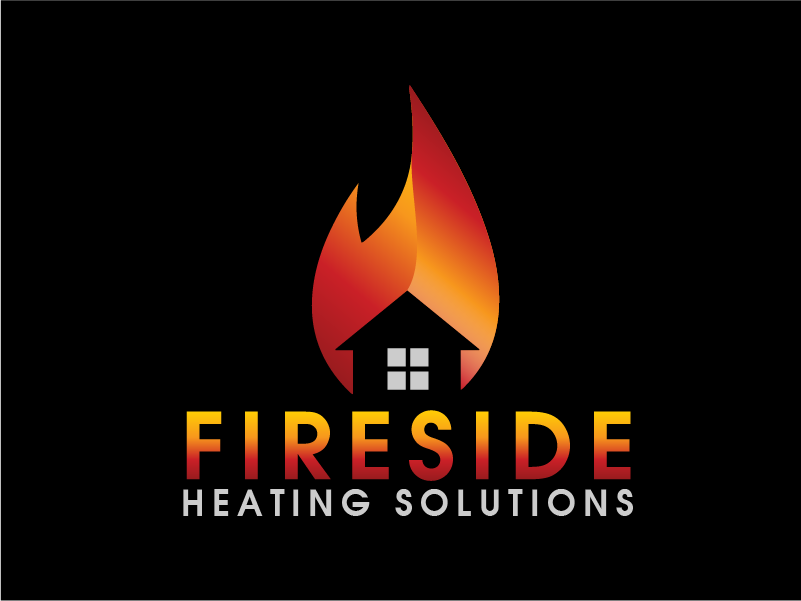 Logo Design by Private User - Entry No. 76 in the Logo Design Contest Creative Logo Design for Fireside Heating Solutions Ltd..