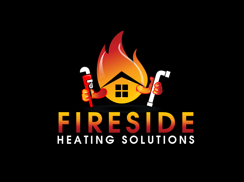Logo Design by brands_in - Entry No. 78 in the Logo Design Contest Creative Logo Design for Fireside Heating Solutions Ltd..