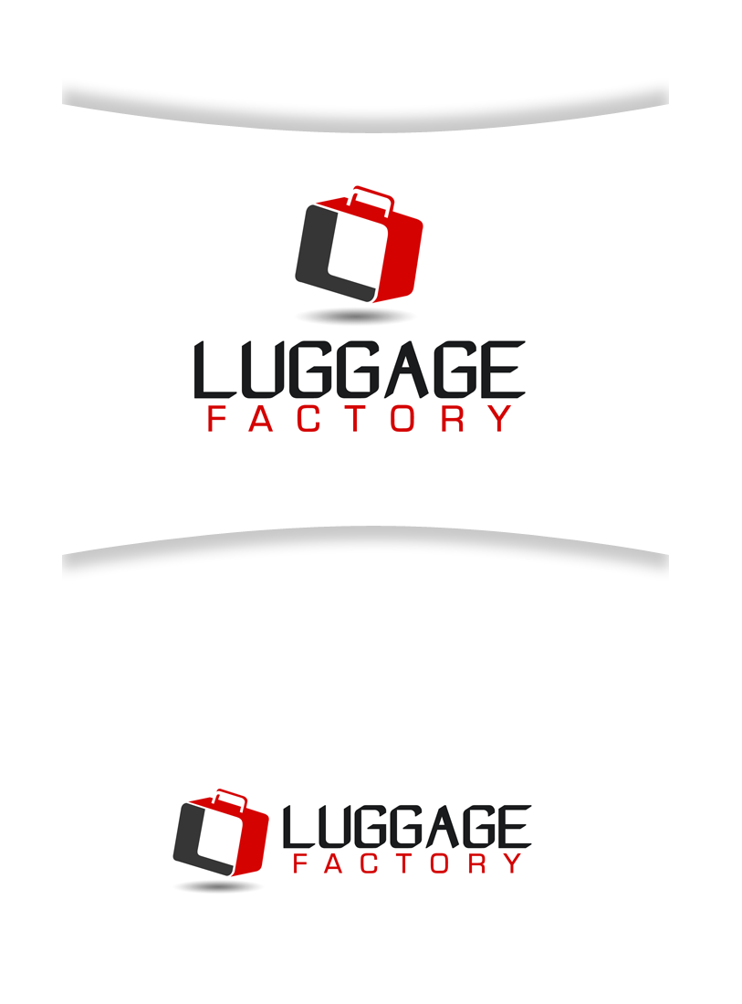 Logo Design by Robert Turla - Entry No. 58 in the Logo Design Contest Creative Logo Design for Luggage Factory.
