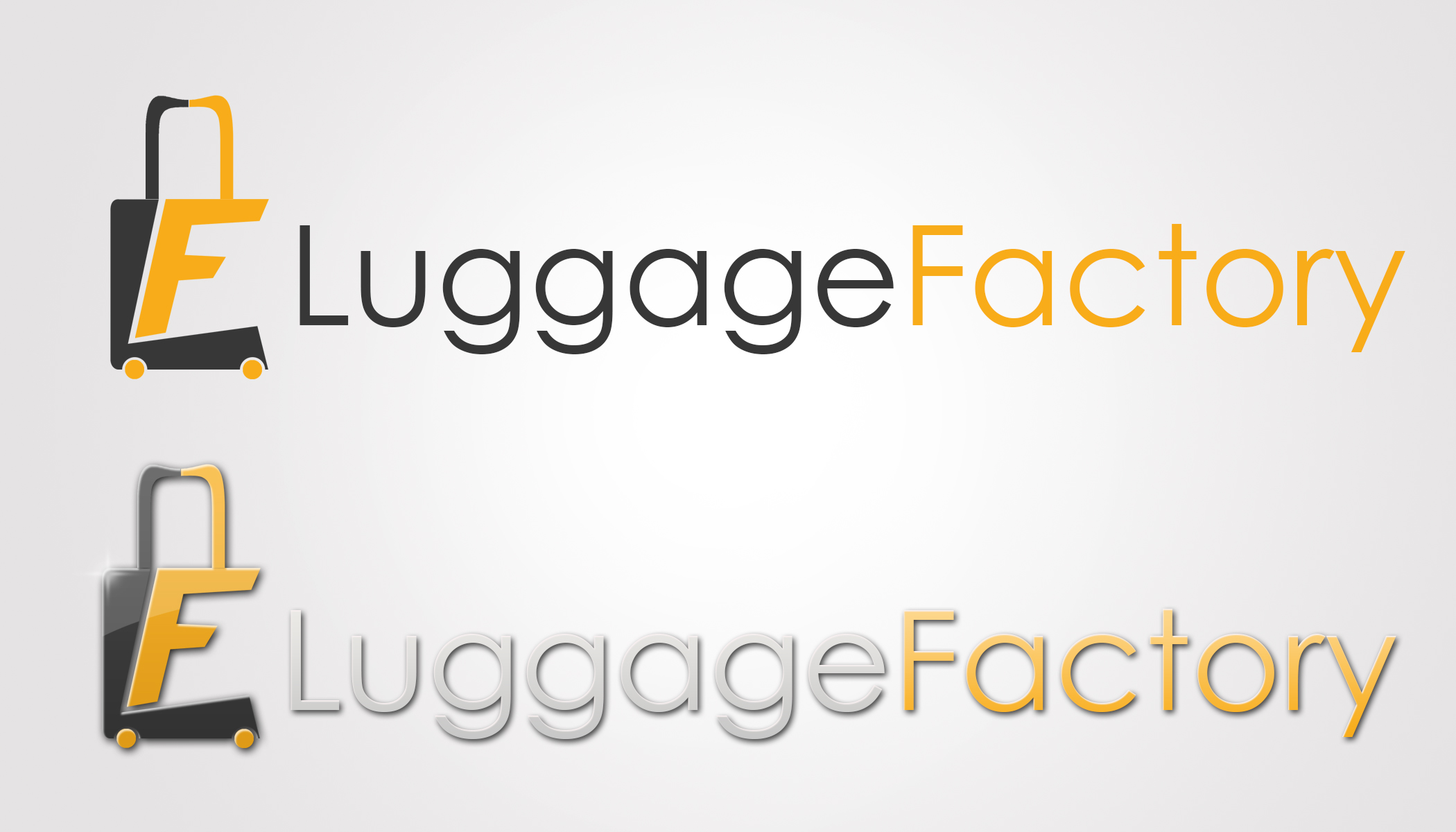 Logo Design by Private User - Entry No. 59 in the Logo Design Contest Creative Logo Design for Luggage Factory.