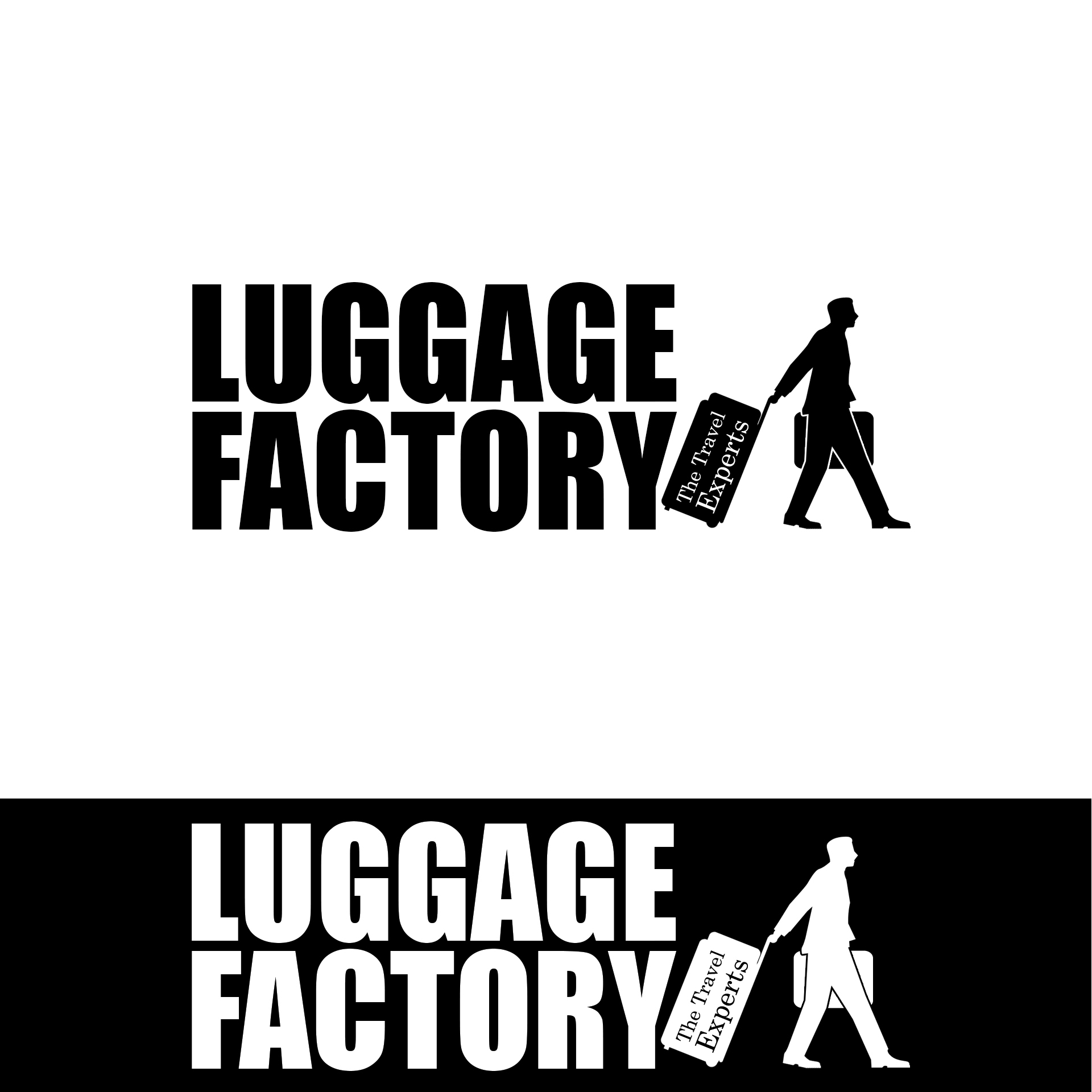 Logo Design by chAnDOS - Entry No. 60 in the Logo Design Contest Creative Logo Design for Luggage Factory.