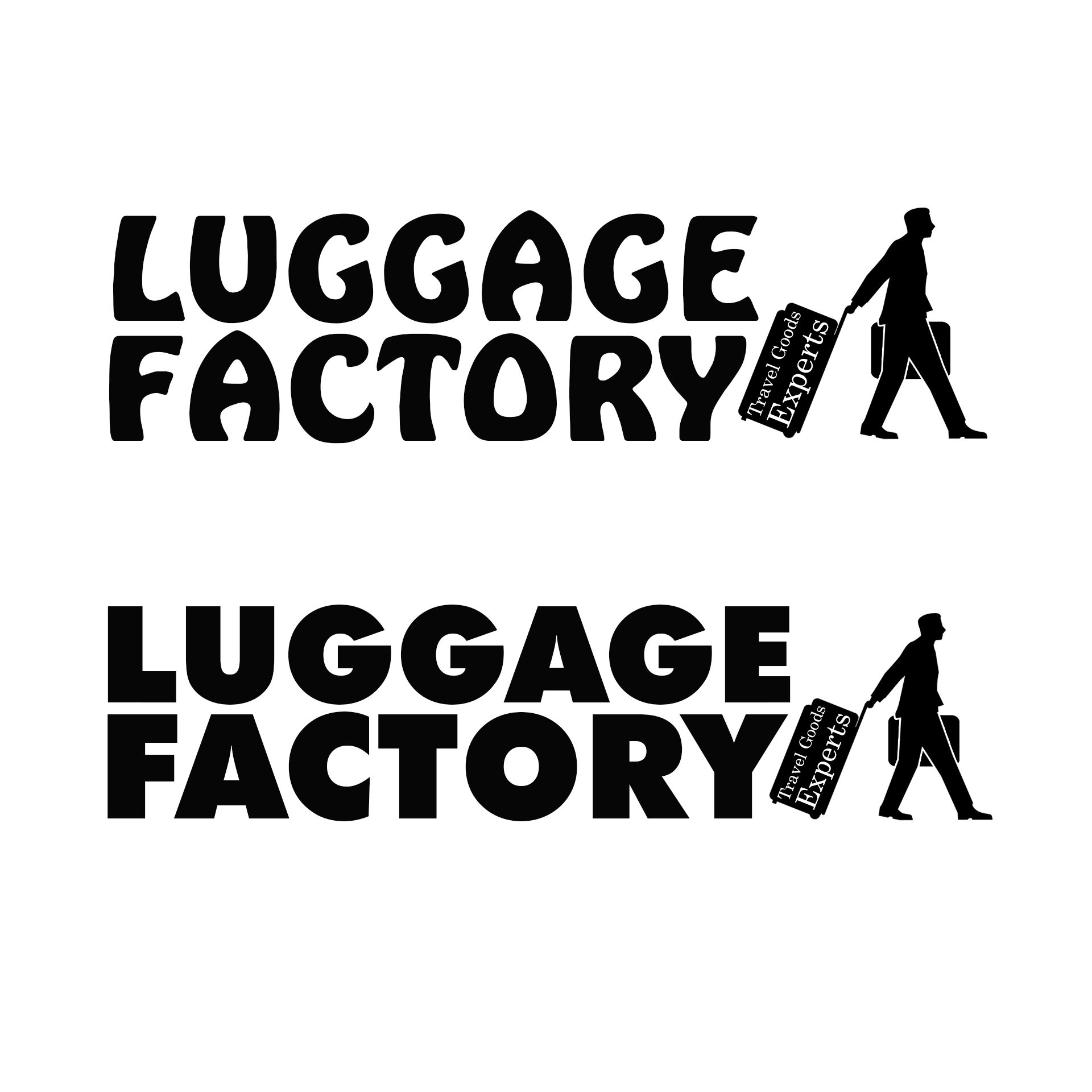 Logo Design by chAnDOS - Entry No. 63 in the Logo Design Contest Creative Logo Design for Luggage Factory.