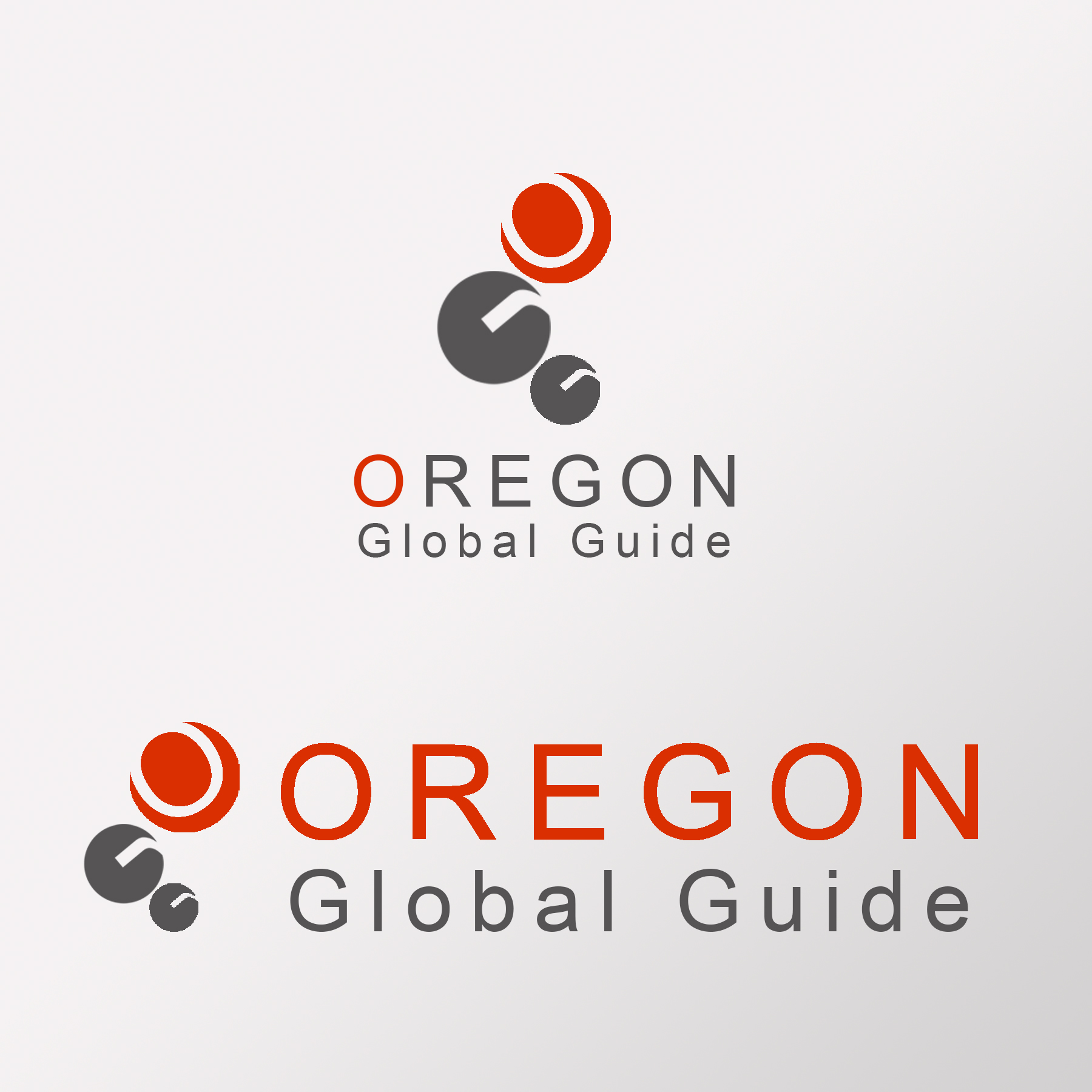 Logo Design by Private User - Entry No. 6 in the Logo Design Contest New Logo Design for Oregon Global Guide.