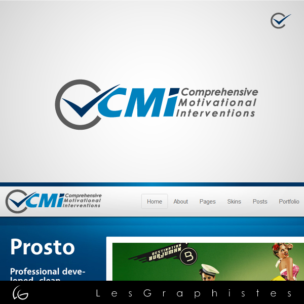 Logo Design by Les-Graphistes - Entry No. 40 in the Logo Design Contest CMI (Comprehensive Motivational Interventions).