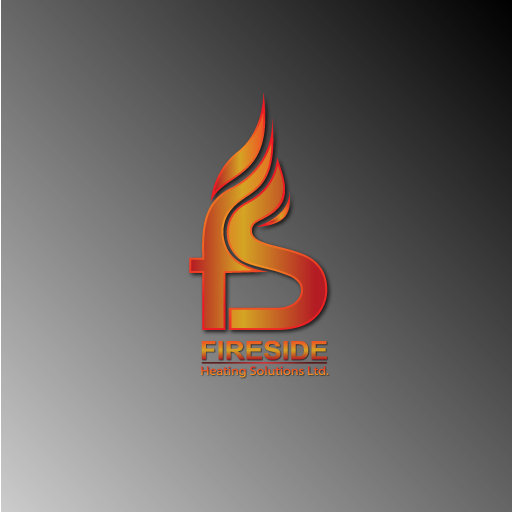 Logo Design by Runz - Entry No. 82 in the Logo Design Contest Creative Logo Design for Fireside Heating Solutions Ltd..