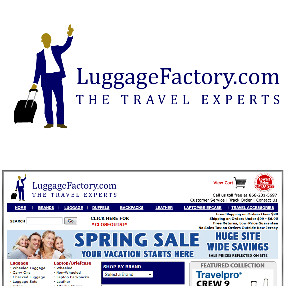 Logo Design by Brand_Man - Entry No. 64 in the Logo Design Contest Creative Logo Design for Luggage Factory.