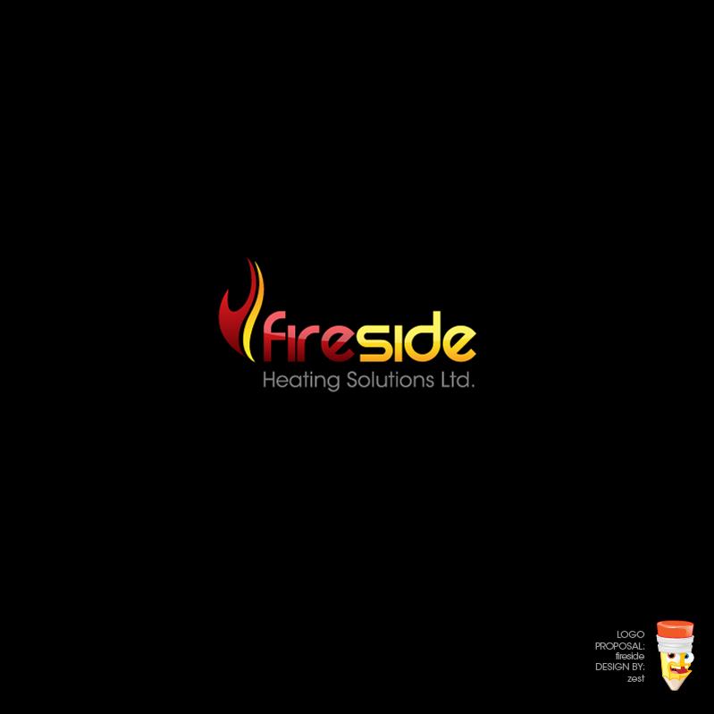 Logo Design by zesthar - Entry No. 90 in the Logo Design Contest Creative Logo Design for Fireside Heating Solutions Ltd..