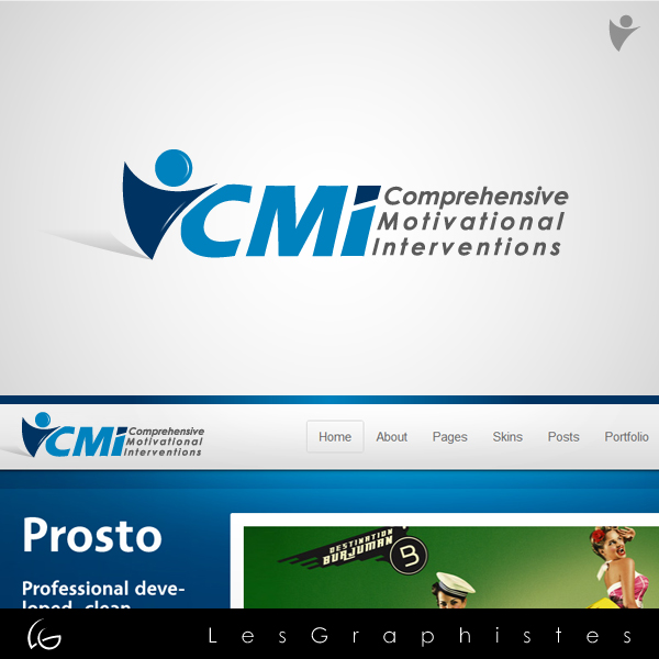 Logo Design by Les-Graphistes - Entry No. 43 in the Logo Design Contest CMI (Comprehensive Motivational Interventions).