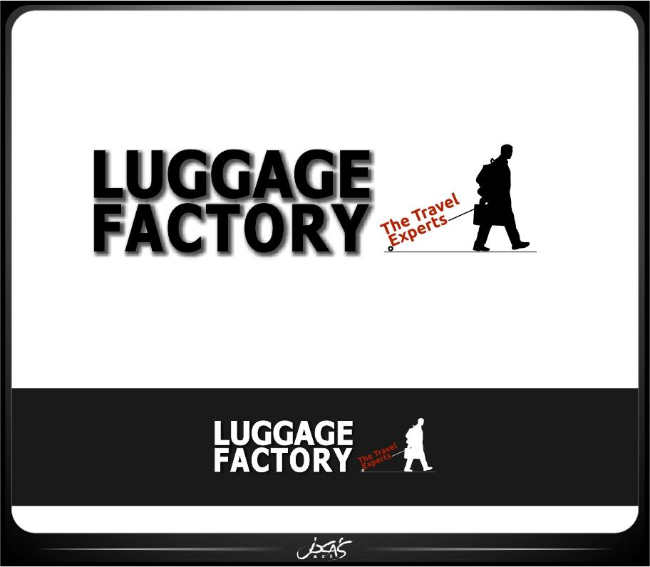 Logo Design by joca - Entry No. 68 in the Logo Design Contest Creative Logo Design for Luggage Factory.