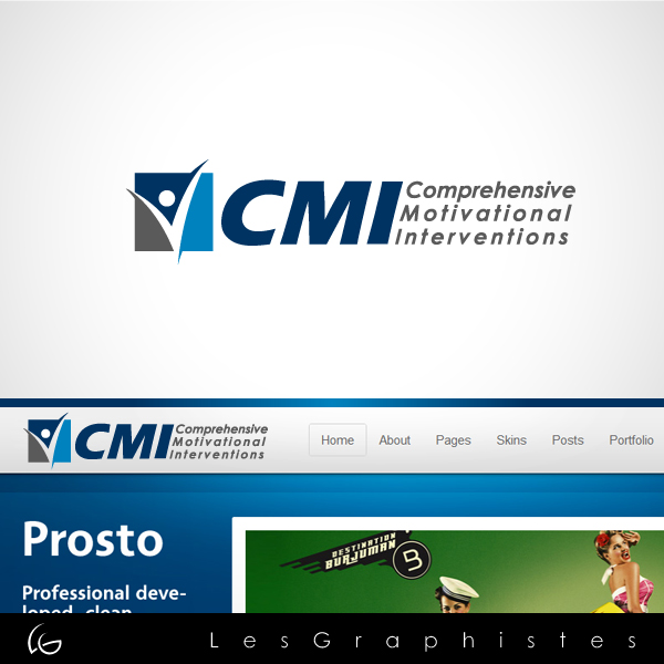 Logo Design by Les-Graphistes - Entry No. 45 in the Logo Design Contest CMI (Comprehensive Motivational Interventions).