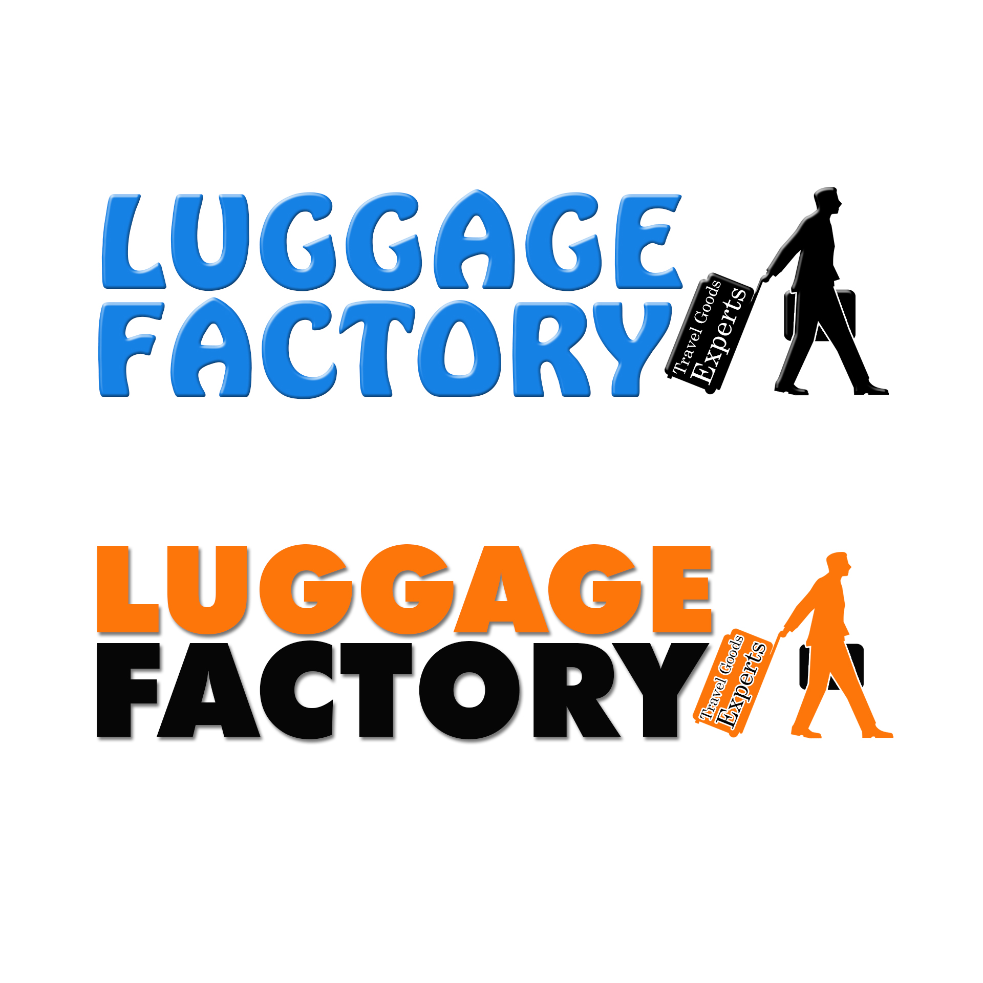 Logo Design by chAnDOS - Entry No. 70 in the Logo Design Contest Creative Logo Design for Luggage Factory.