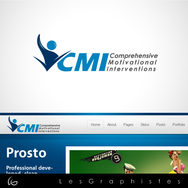 Logo Design by Les-Graphistes - Entry No. 46 in the Logo Design Contest CMI (Comprehensive Motivational Interventions).