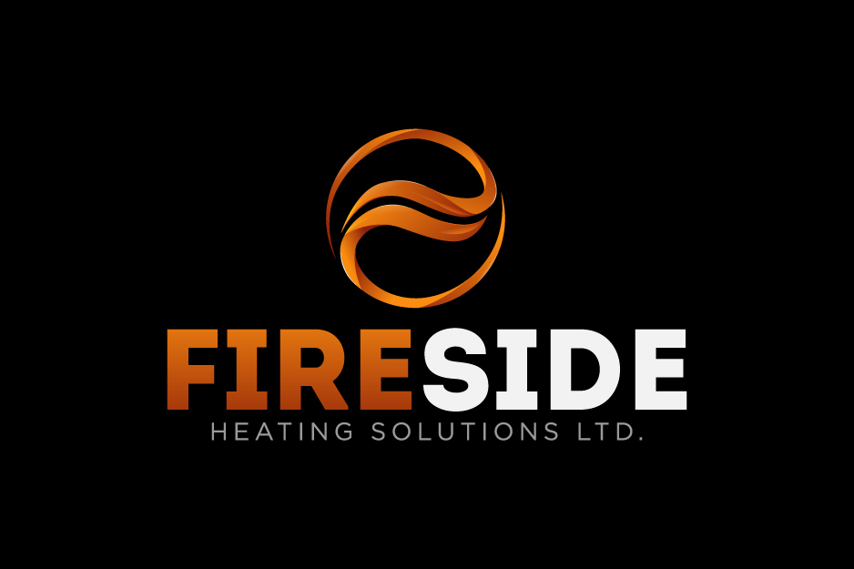 Logo Design by Top Elite - Entry No. 99 in the Logo Design Contest Creative Logo Design for Fireside Heating Solutions Ltd..