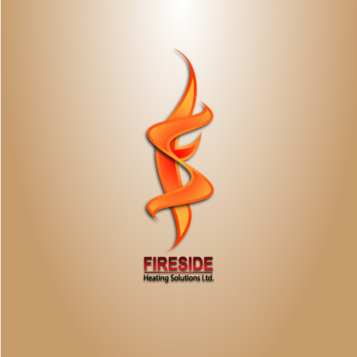 Logo Design by Runz - Entry No. 101 in the Logo Design Contest Creative Logo Design for Fireside Heating Solutions Ltd..
