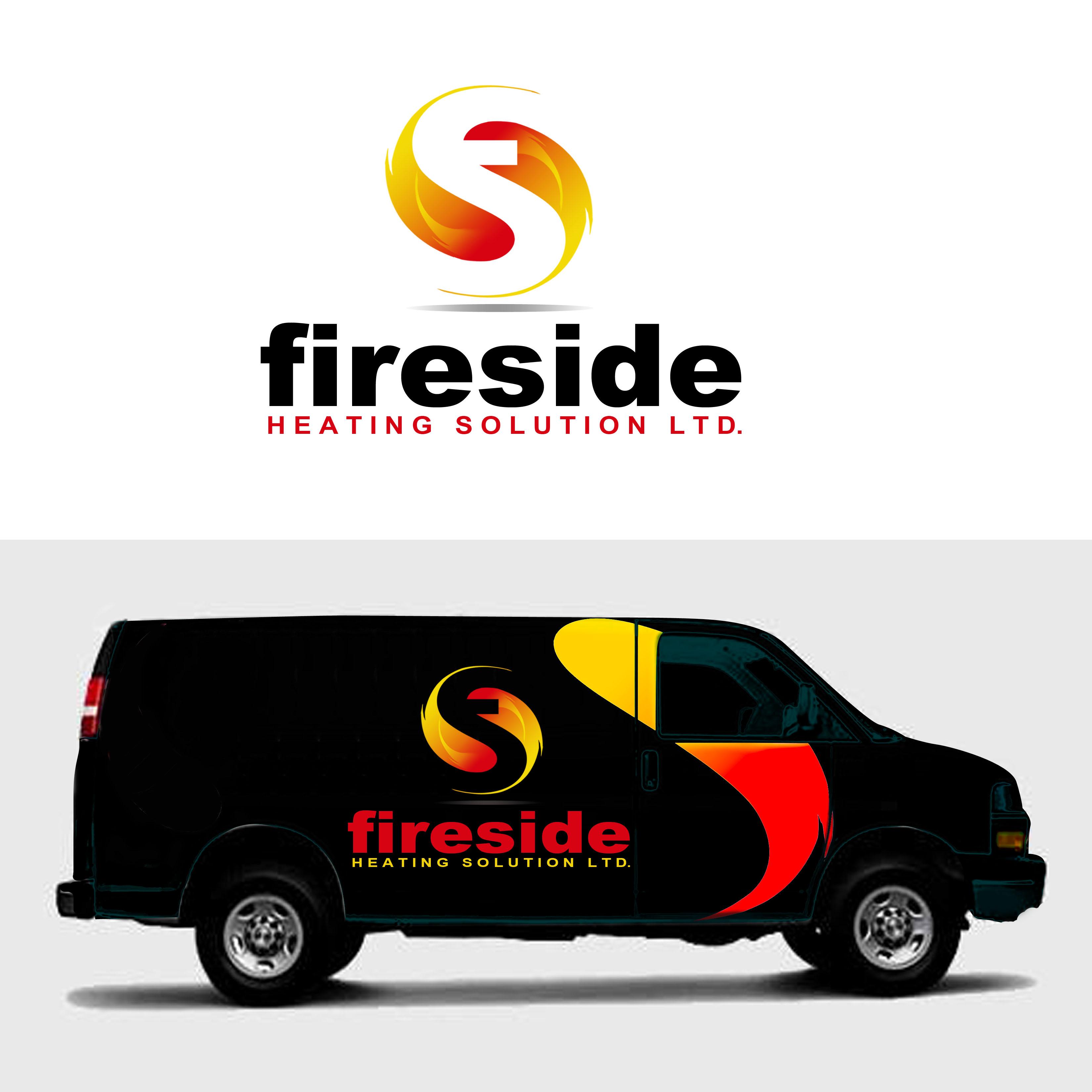 Logo Design by Allan Esclamado - Entry No. 103 in the Logo Design Contest Creative Logo Design for Fireside Heating Solutions Ltd..
