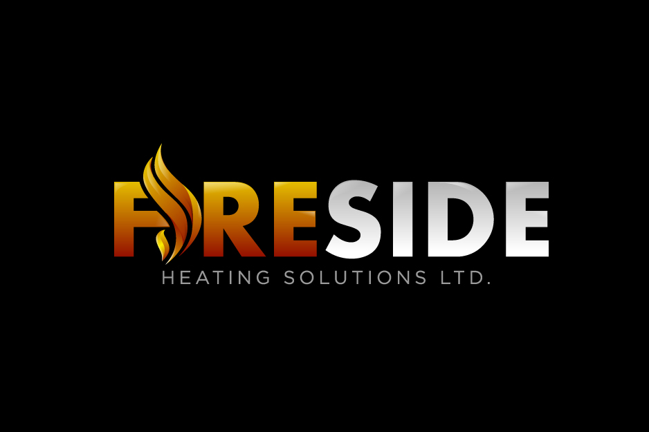 Logo Design by Top Elite - Entry No. 105 in the Logo Design Contest Creative Logo Design for Fireside Heating Solutions Ltd..