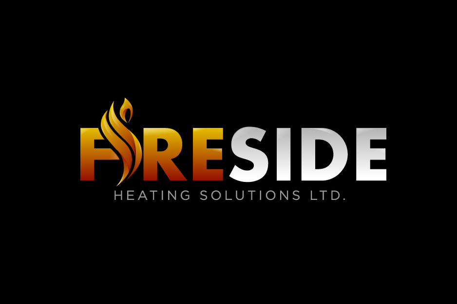 Logo Design by Top Elite - Entry No. 107 in the Logo Design Contest Creative Logo Design for Fireside Heating Solutions Ltd..