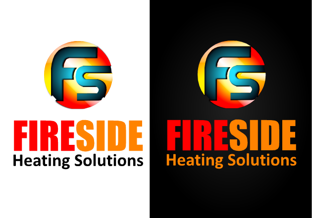 Logo Design by Ismail Adhi Wibowo - Entry No. 109 in the Logo Design Contest Creative Logo Design for Fireside Heating Solutions Ltd..