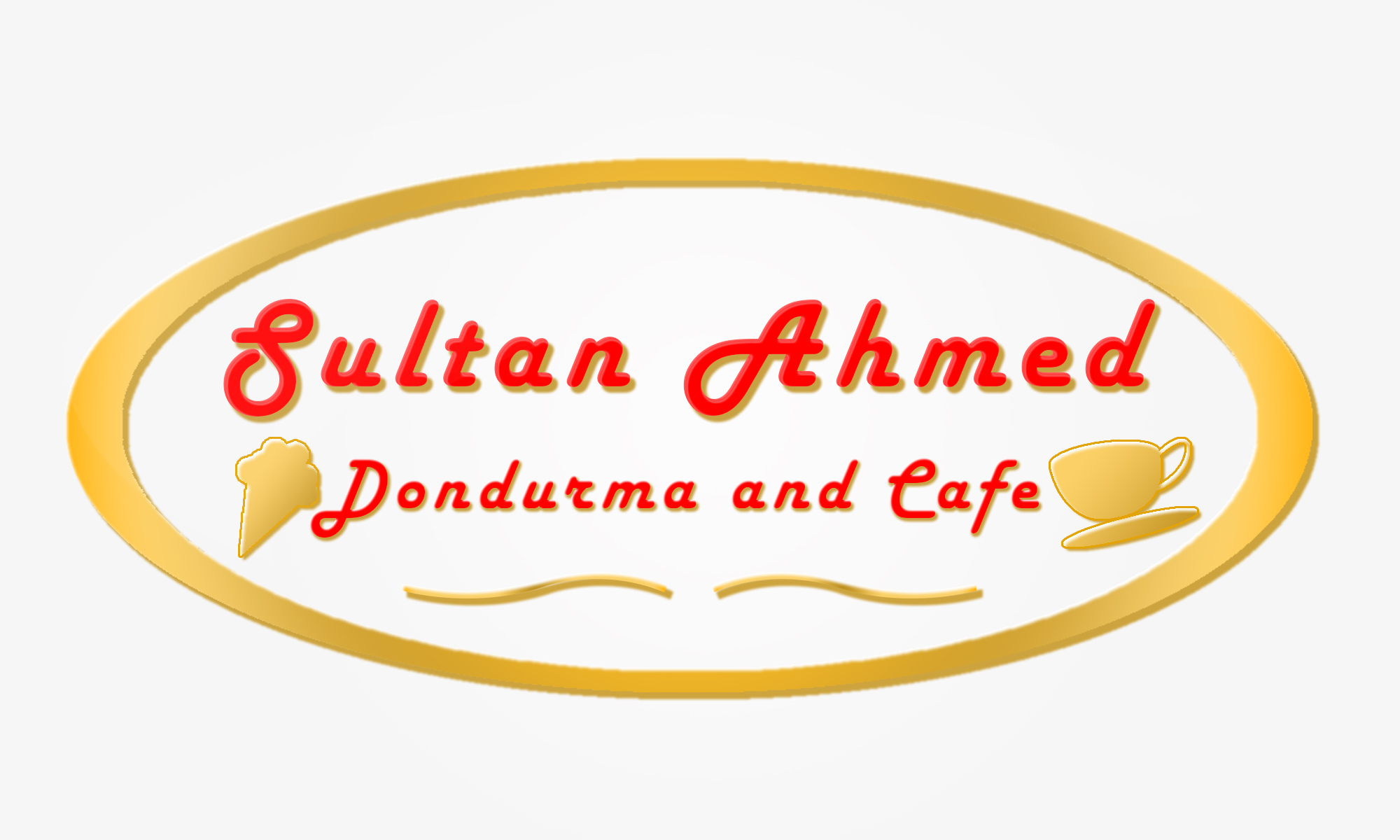Logo Design by Private User - Entry No. 10 in the Logo Design Contest Unique Logo Design Wanted for Sultan Ahmed Dondurma and Cafe.