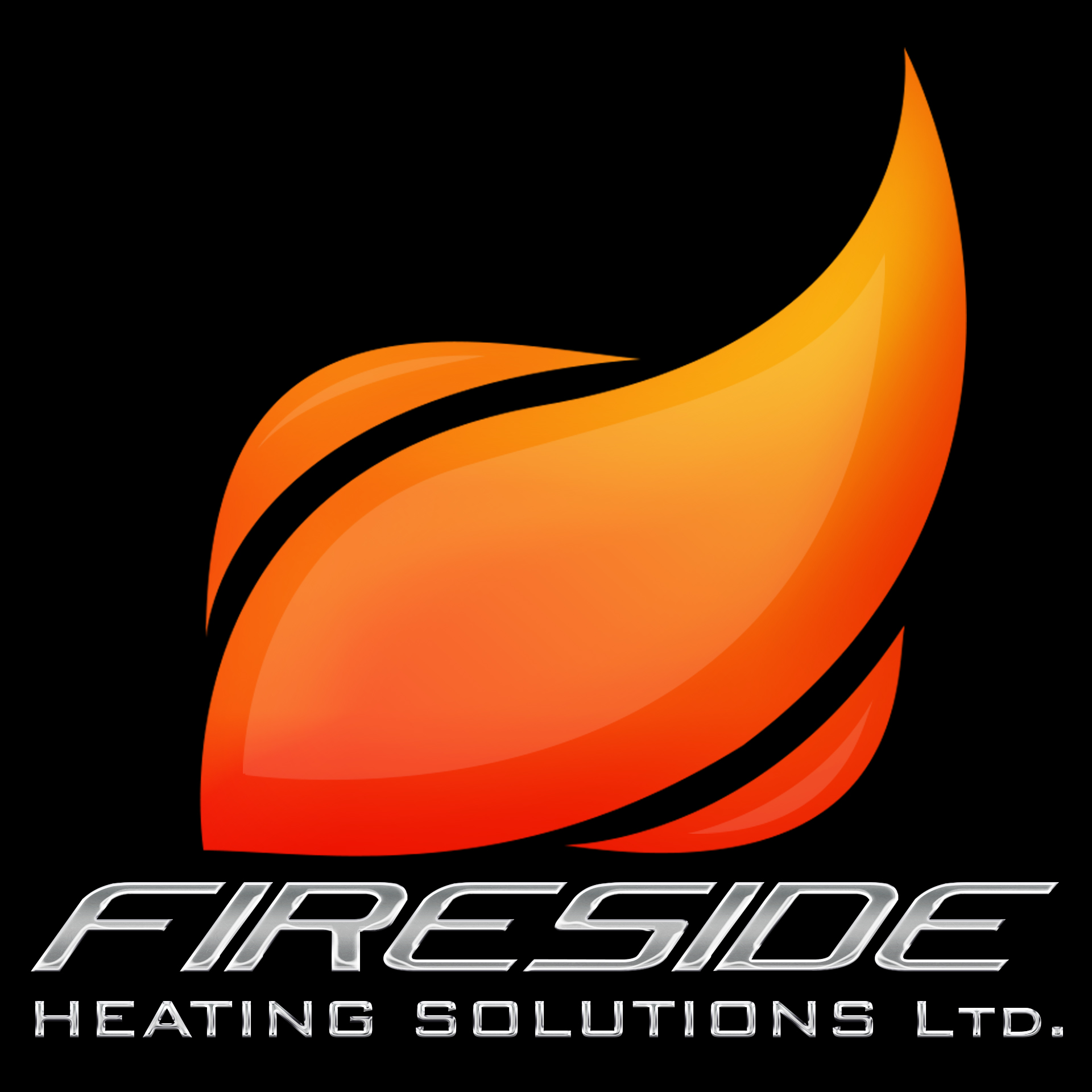 Logo Design by chAnDOS - Entry No. 118 in the Logo Design Contest Creative Logo Design for Fireside Heating Solutions Ltd..