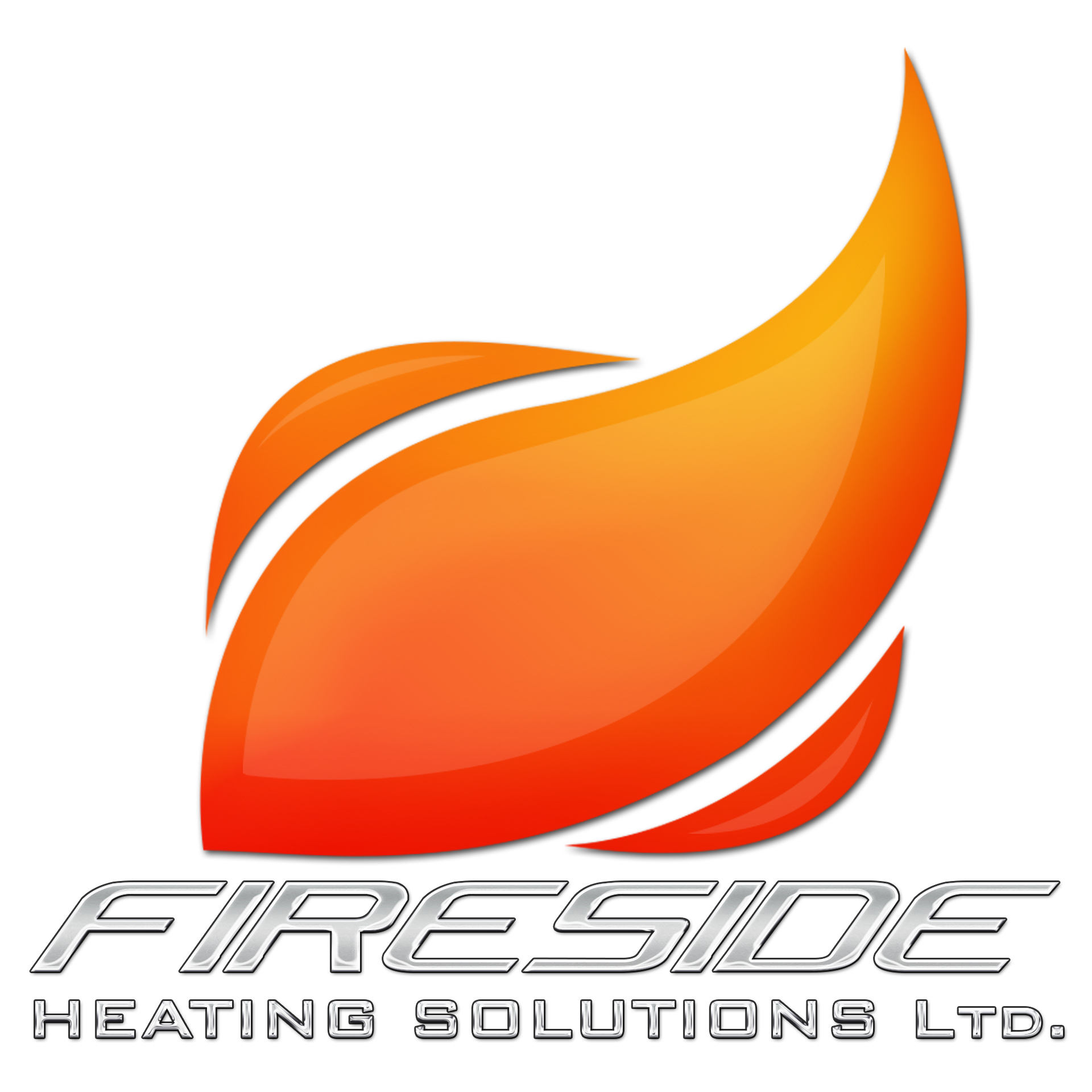 Logo Design by chAnDOS - Entry No. 120 in the Logo Design Contest Creative Logo Design for Fireside Heating Solutions Ltd..
