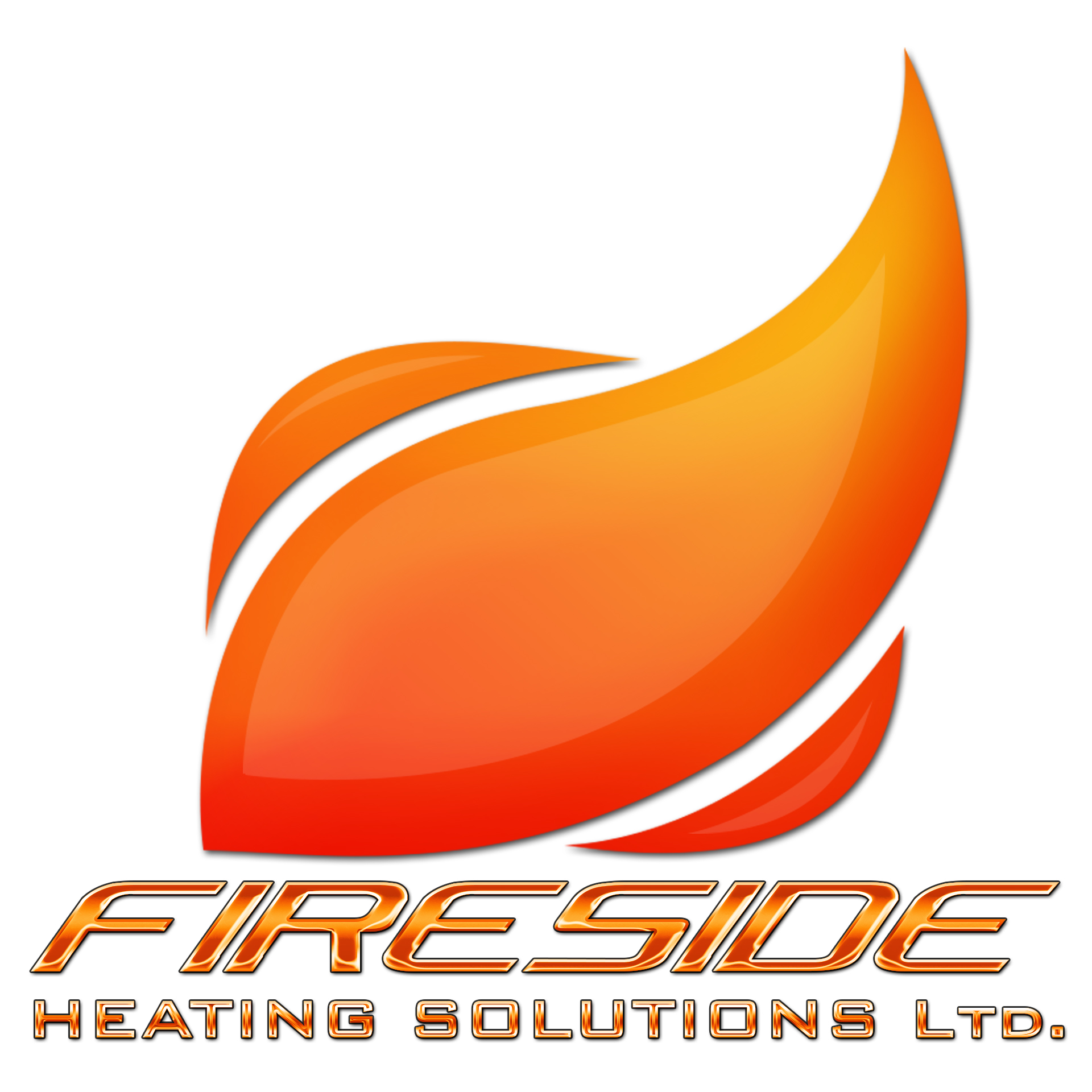 Logo Design by chAnDOS - Entry No. 121 in the Logo Design Contest Creative Logo Design for Fireside Heating Solutions Ltd..
