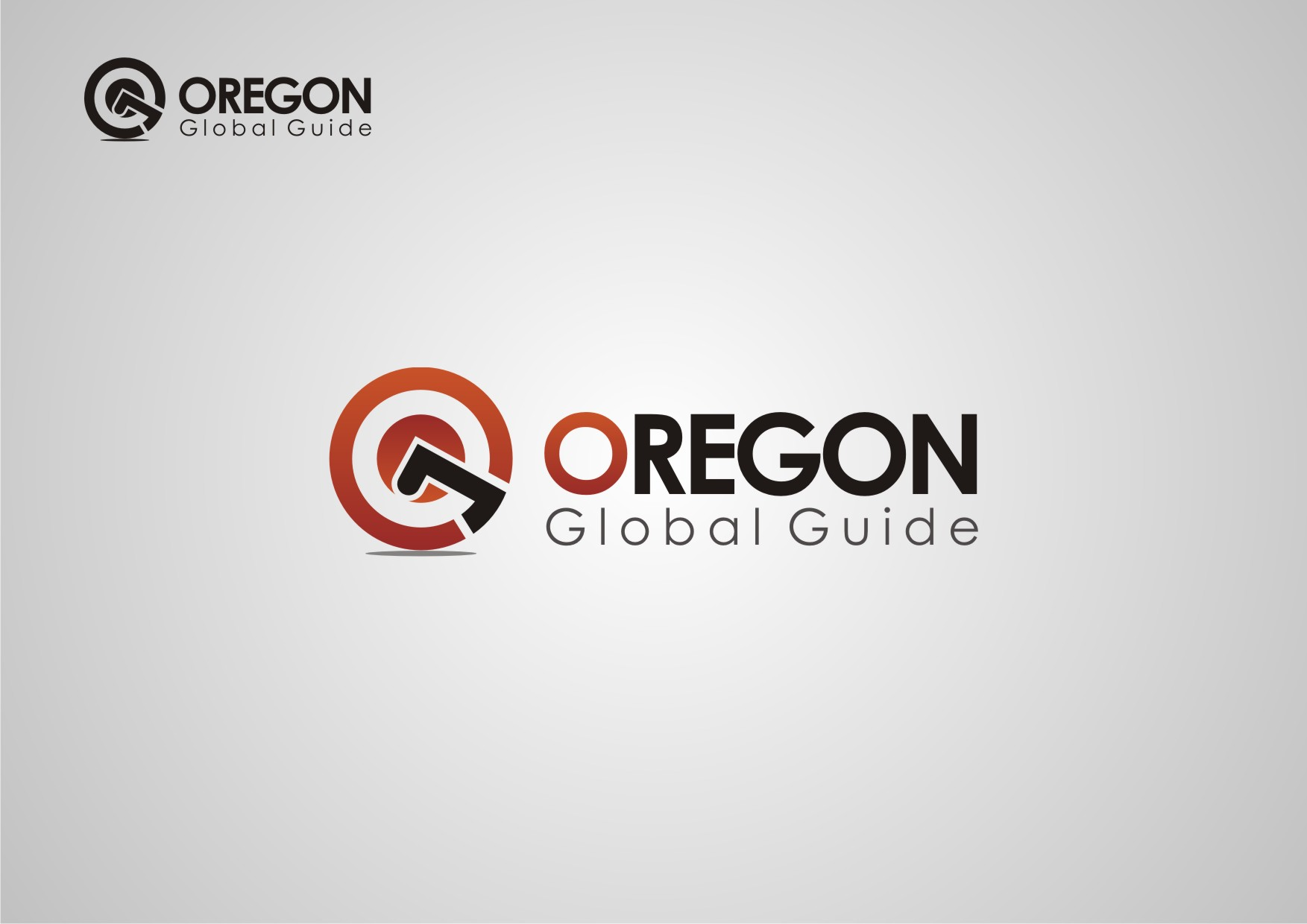 Logo Design by Private User - Entry No. 10 in the Logo Design Contest New Logo Design for Oregon Global Guide.