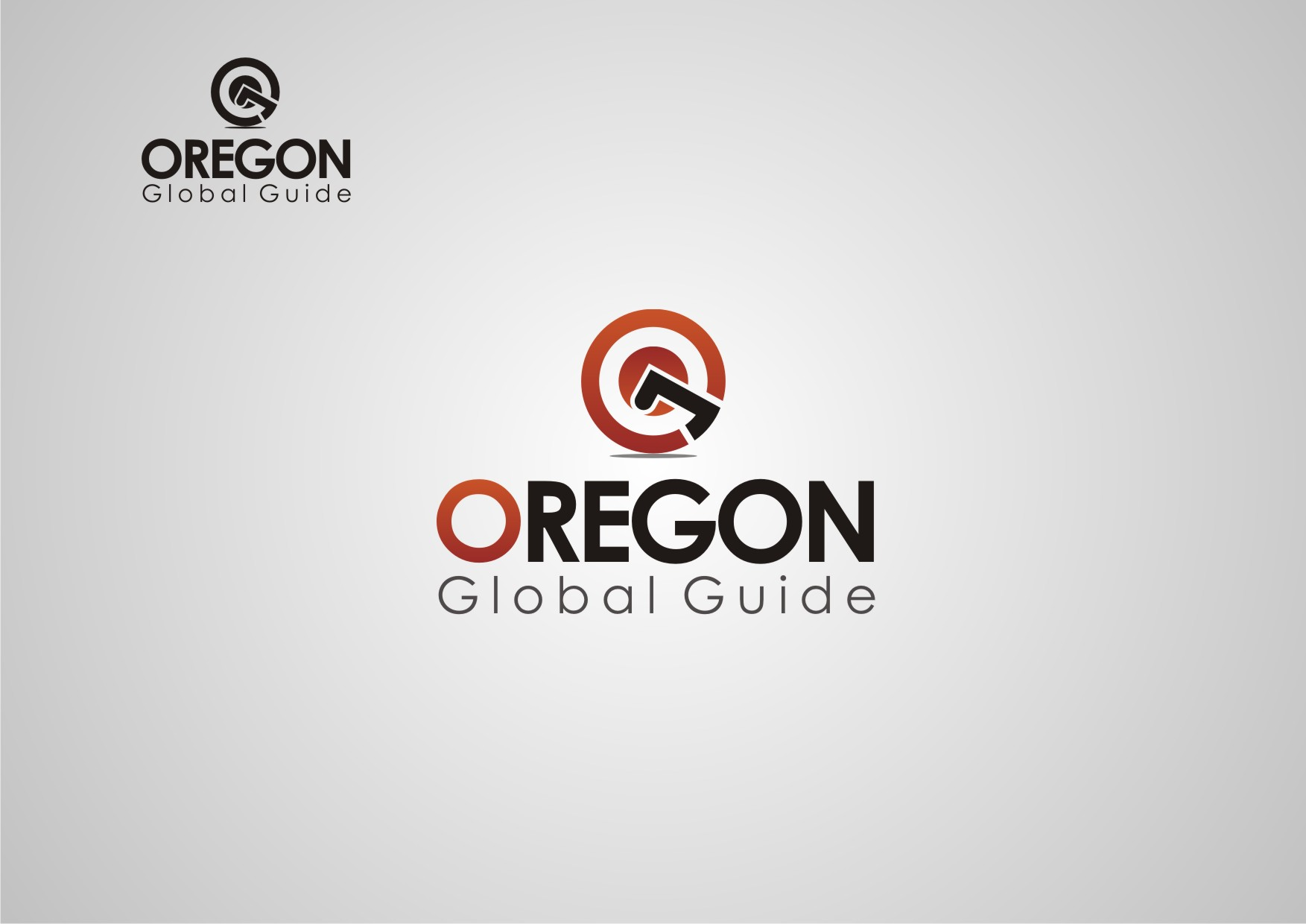 Logo Design by Private User - Entry No. 11 in the Logo Design Contest New Logo Design for Oregon Global Guide.