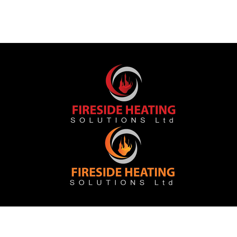 Logo Design by Private User - Entry No. 124 in the Logo Design Contest Creative Logo Design for Fireside Heating Solutions Ltd..