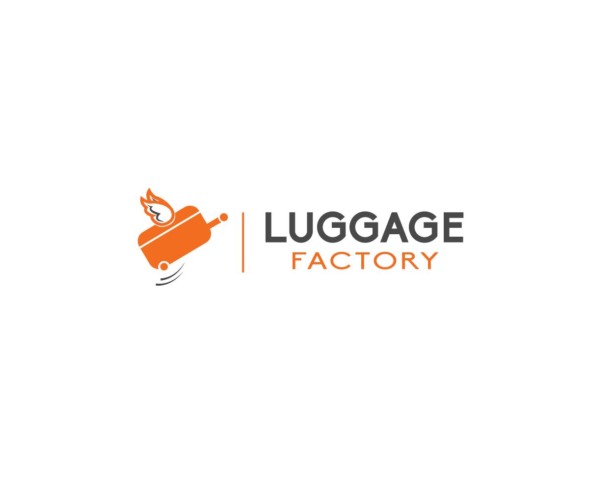 Logo Design by Zilonard - Entry No. 85 in the Logo Design Contest Creative Logo Design for Luggage Factory.