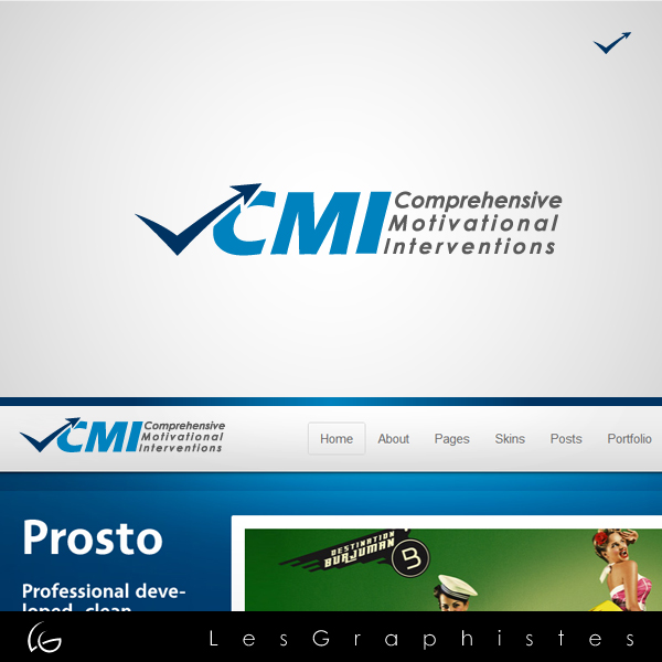Logo Design by Les-Graphistes - Entry No. 50 in the Logo Design Contest CMI (Comprehensive Motivational Interventions).