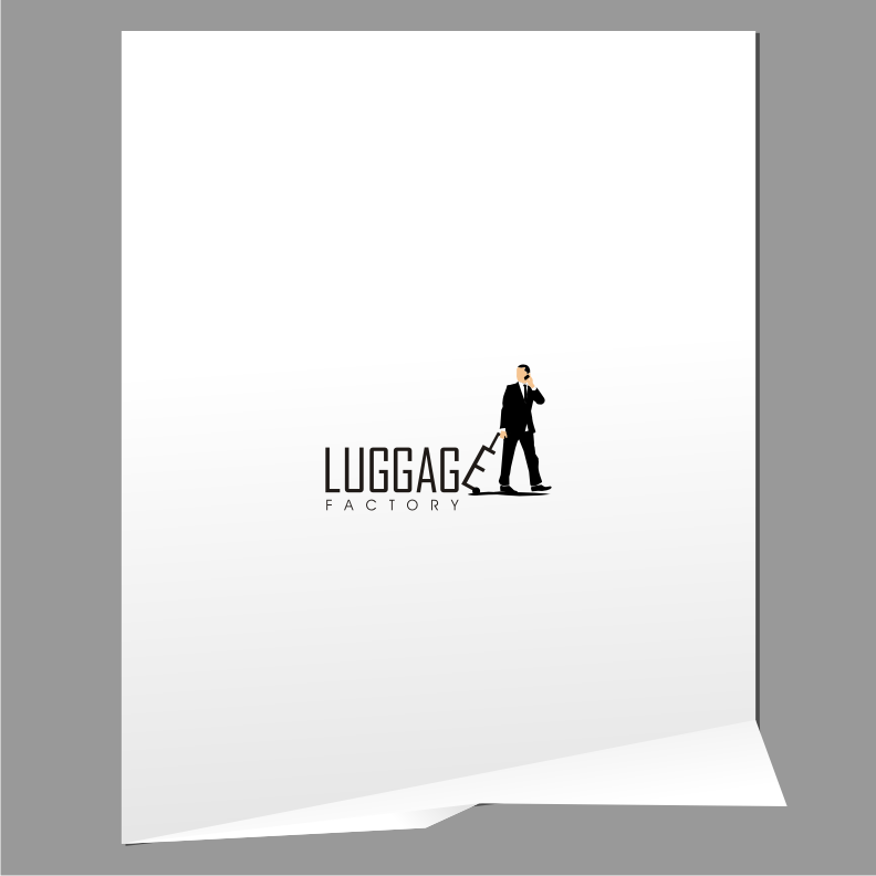 Logo Design by graphicleaf - Entry No. 86 in the Logo Design Contest Creative Logo Design for Luggage Factory.