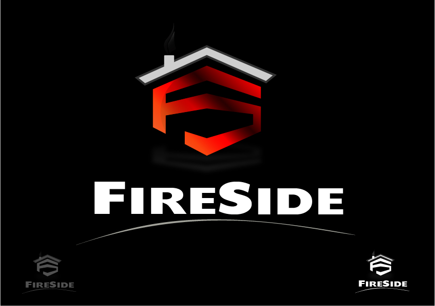Logo Design by drunkman - Entry No. 126 in the Logo Design Contest Creative Logo Design for Fireside Heating Solutions Ltd..