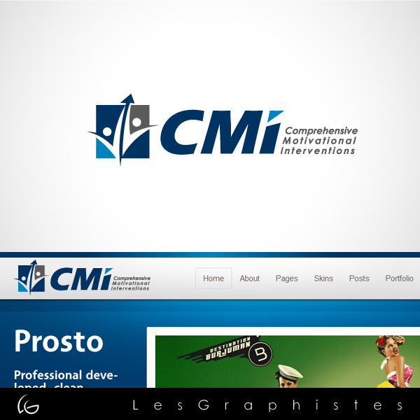 Logo Design by Les-Graphistes - Entry No. 52 in the Logo Design Contest CMI (Comprehensive Motivational Interventions).
