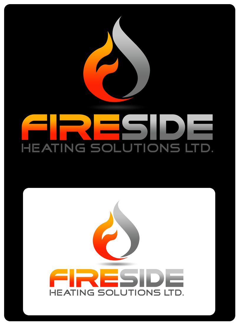 Logo Design by Private User - Entry No. 134 in the Logo Design Contest Creative Logo Design for Fireside Heating Solutions Ltd..