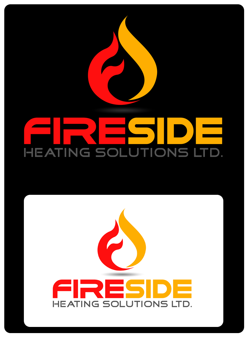 Logo Design by Private User - Entry No. 135 in the Logo Design Contest Creative Logo Design for Fireside Heating Solutions Ltd..